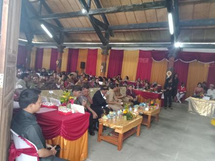 PENYAMBUTAN LOBA KKG DESA SEPANG KELOD PADA TGL 16 SEPTEMBER 2019