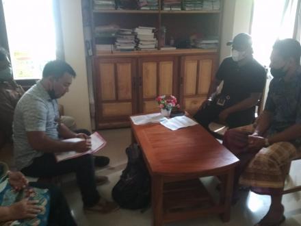 PENYERAHAN DAN PENGESAHAN PROGRAM PAMSIMAS DESA SEPANG KELOD OLEH DPMU PAMSIMAS Kabupaten Buleleng